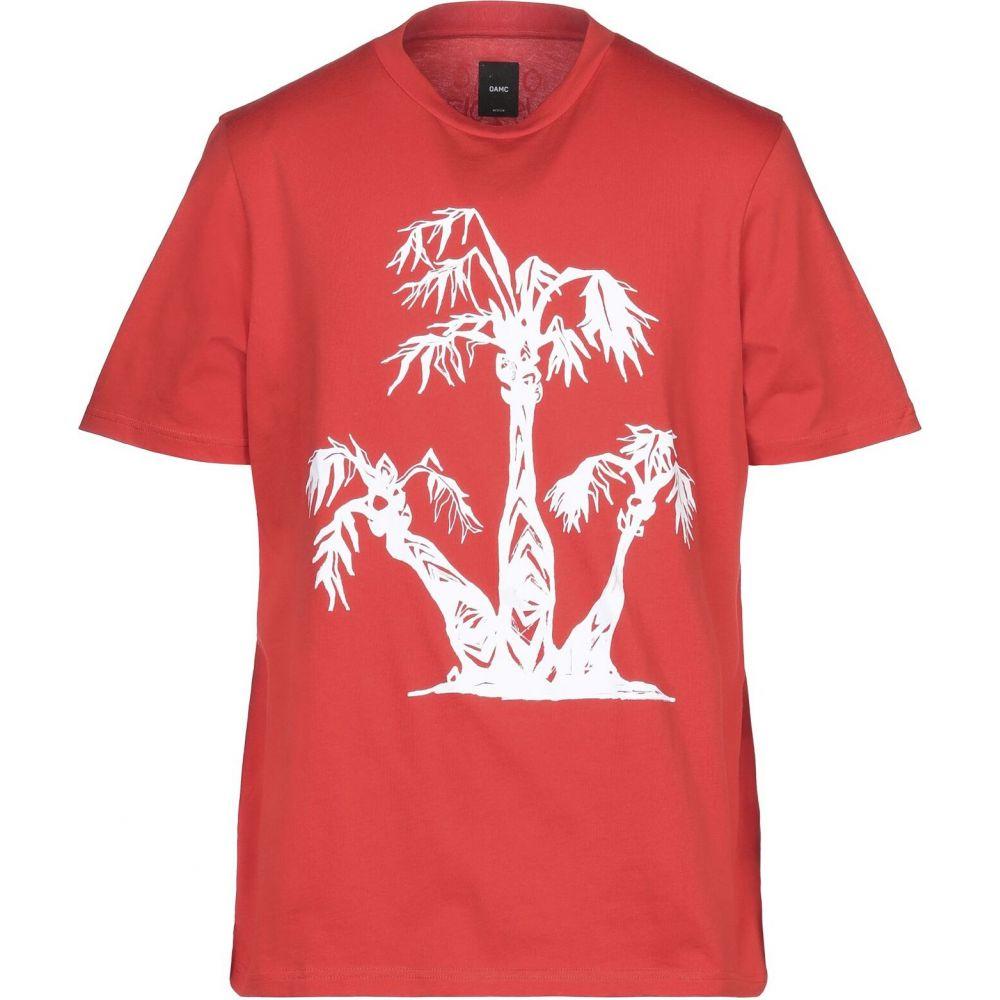 オーエーエムシー OAMC メンズ Tシャツ トップス【t-shirt】Red