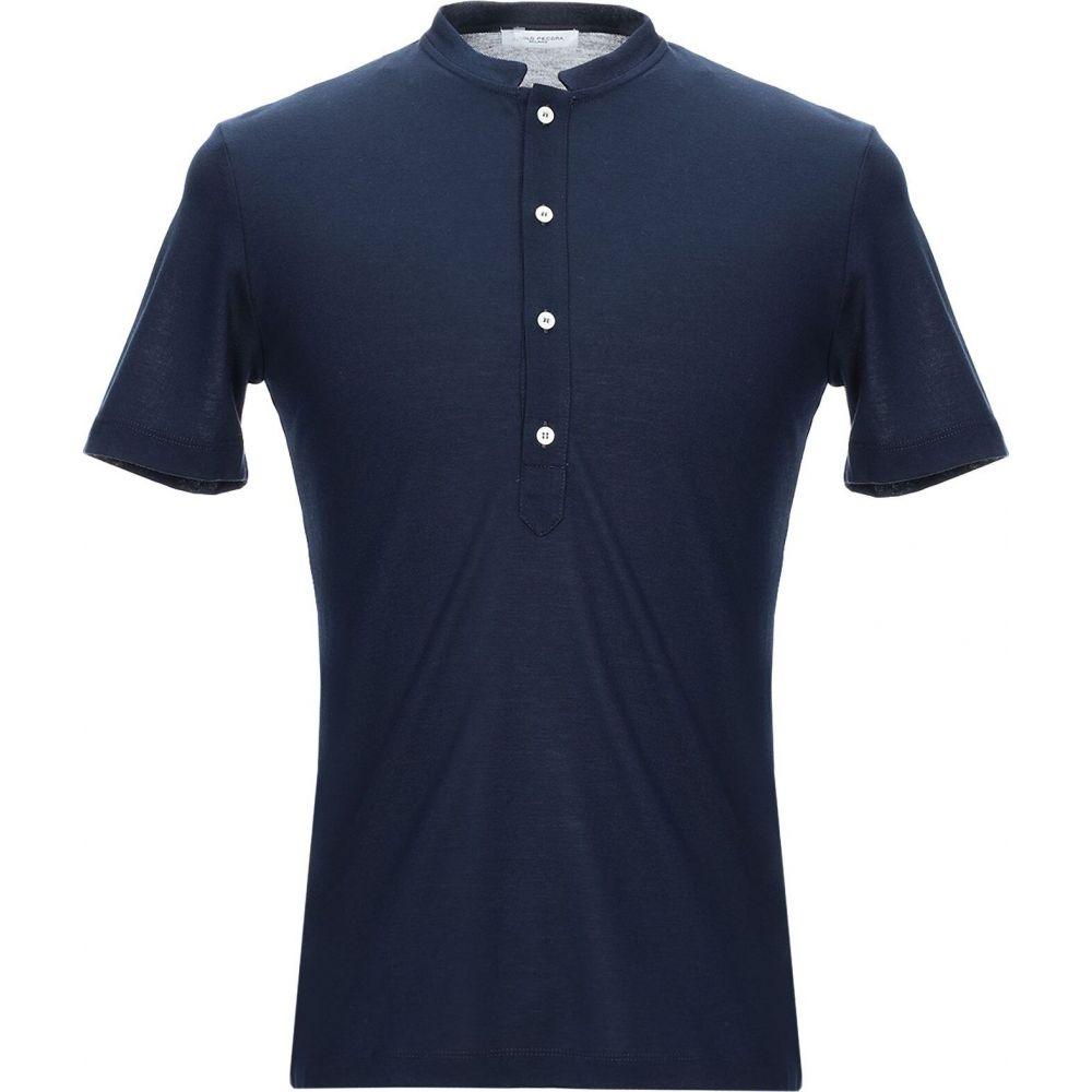 パオロ ペコラ PAOLO PECORA メンズ Tシャツ トップス【t-shirt】Dark blue
