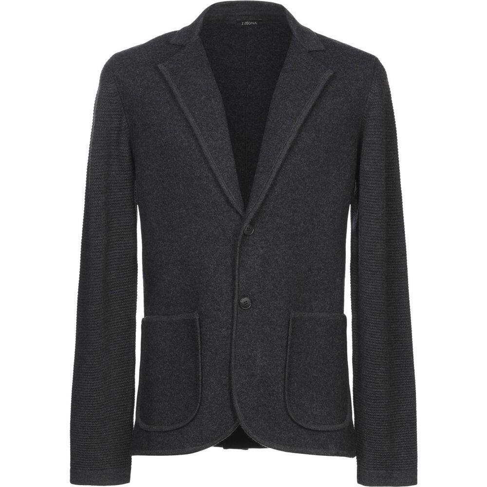 ZZEGNA メンズ スーツ・ジャケット アウター【blazer】Steel grey