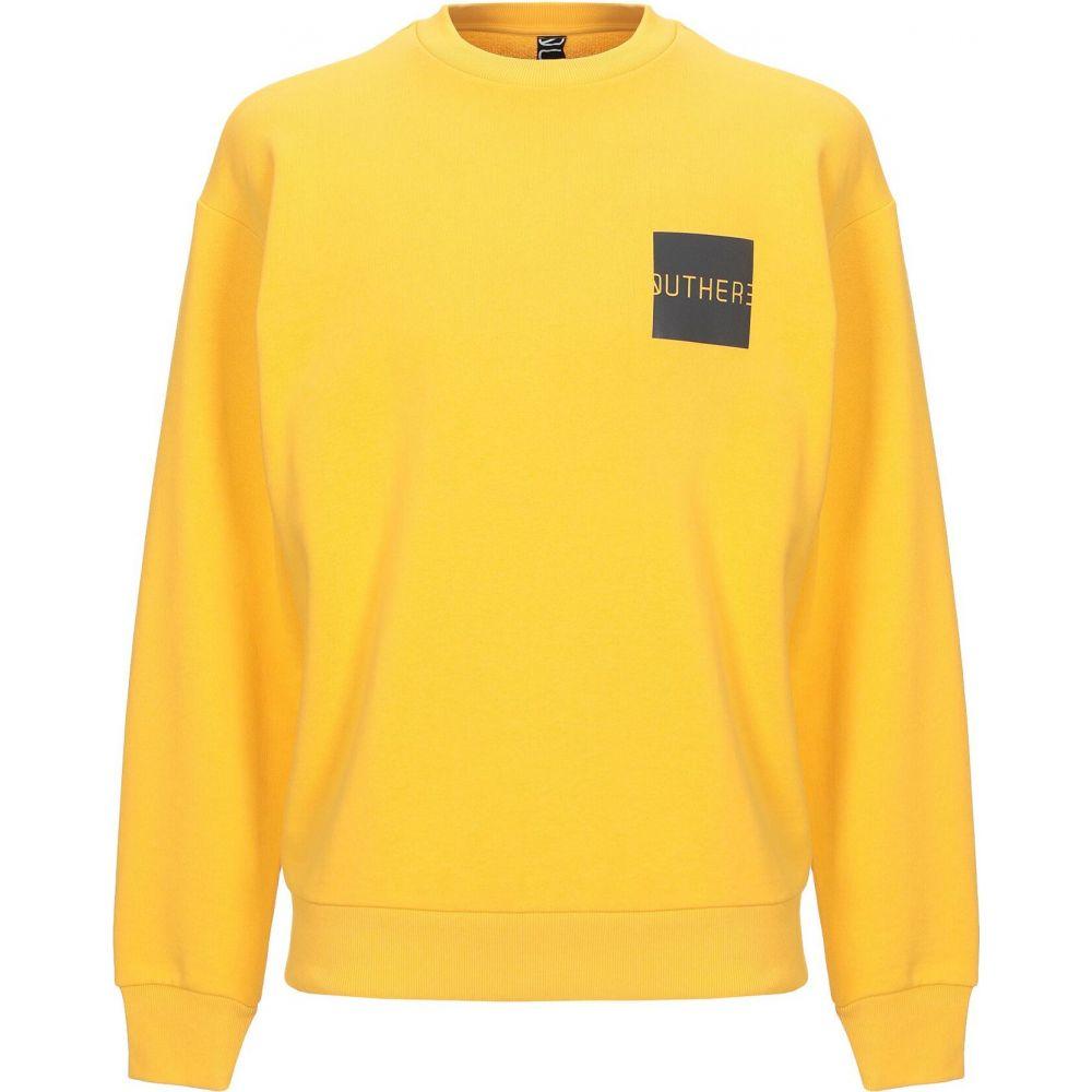 アウトヒア OUTHERE メンズ スウェット・トレーナー トップス【sweatshirt】Yellow