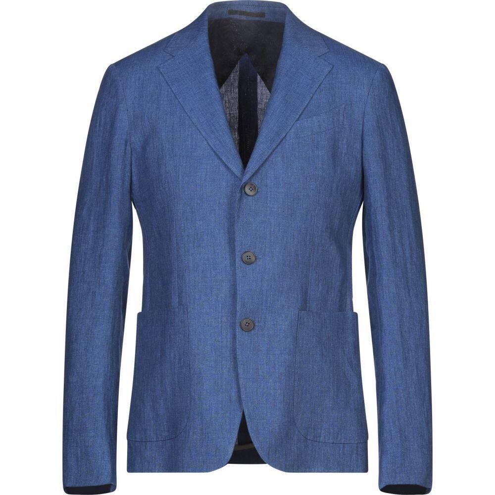 ZZEGNA メンズ スーツ・ジャケット アウター【blazer】Blue
