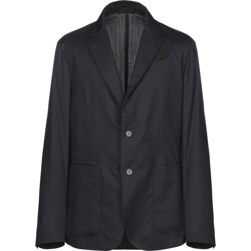 エルメネジルド ゼニア ERMENEGILDO ZEGNA メンズ スーツ・ジャケット アウター【blazer】Dark blue