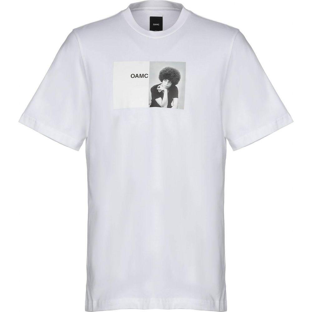 オーエーエムシー OAMC メンズ Tシャツ トップス【t-shirt】White
