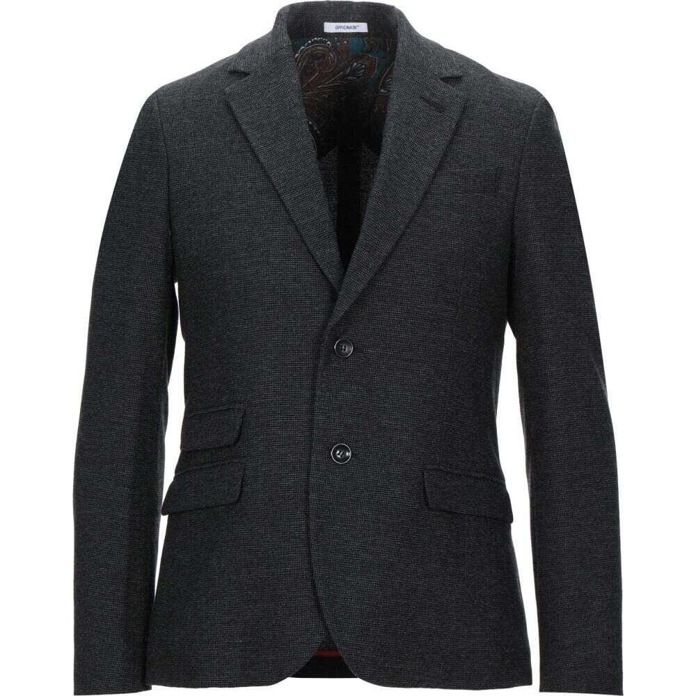 <title>オフィチーナ トレンタ お見舞い セイ メンズ アウター スーツ ジャケット Black サイズ交換無料 OFFICINA 36 blazer</title>