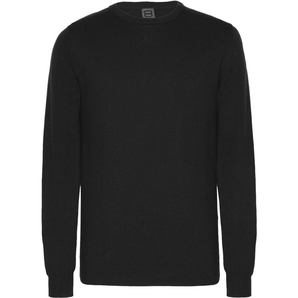 オット バイ ユークス メンズ トップス ニット 人気の製品 セーター sweater YOOX Black by SALE 8 サイズ交換無料