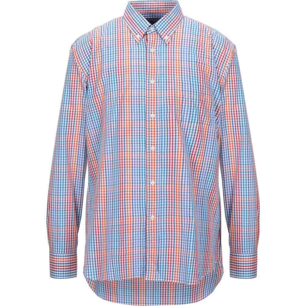 バブアー BARBOUR メンズ シャツ トップス【checked shirt】Azure