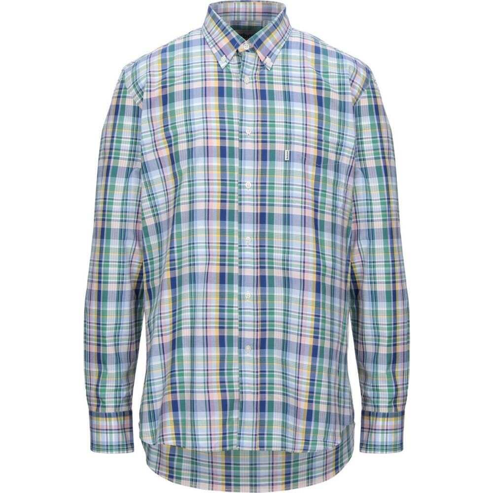 バブアー BARBOUR メンズ シャツ トップス【patterned shirt】Green