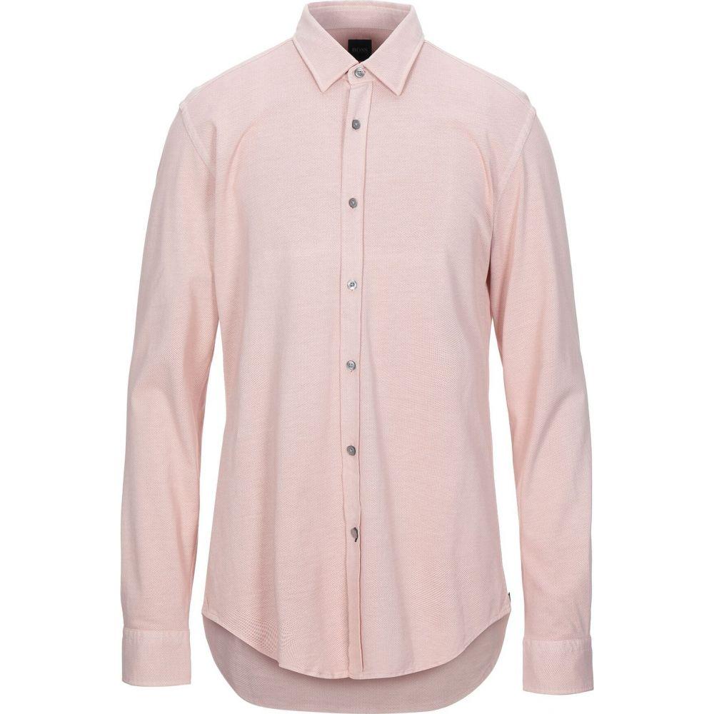 ヒューゴ ボス BOSS HUGO BOSS メンズ シャツ トップス【patterned shirt】Pink