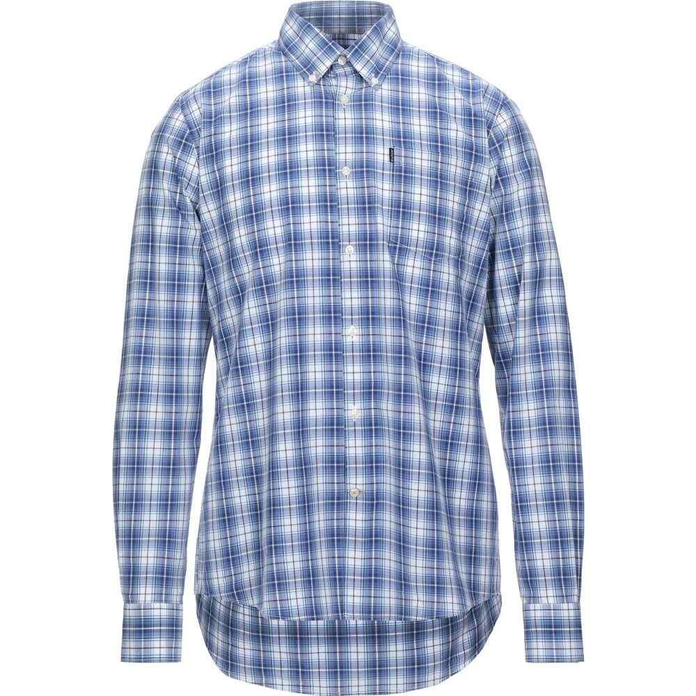 バブアー BARBOUR メンズ シャツ トップス【checked shirt】Blue