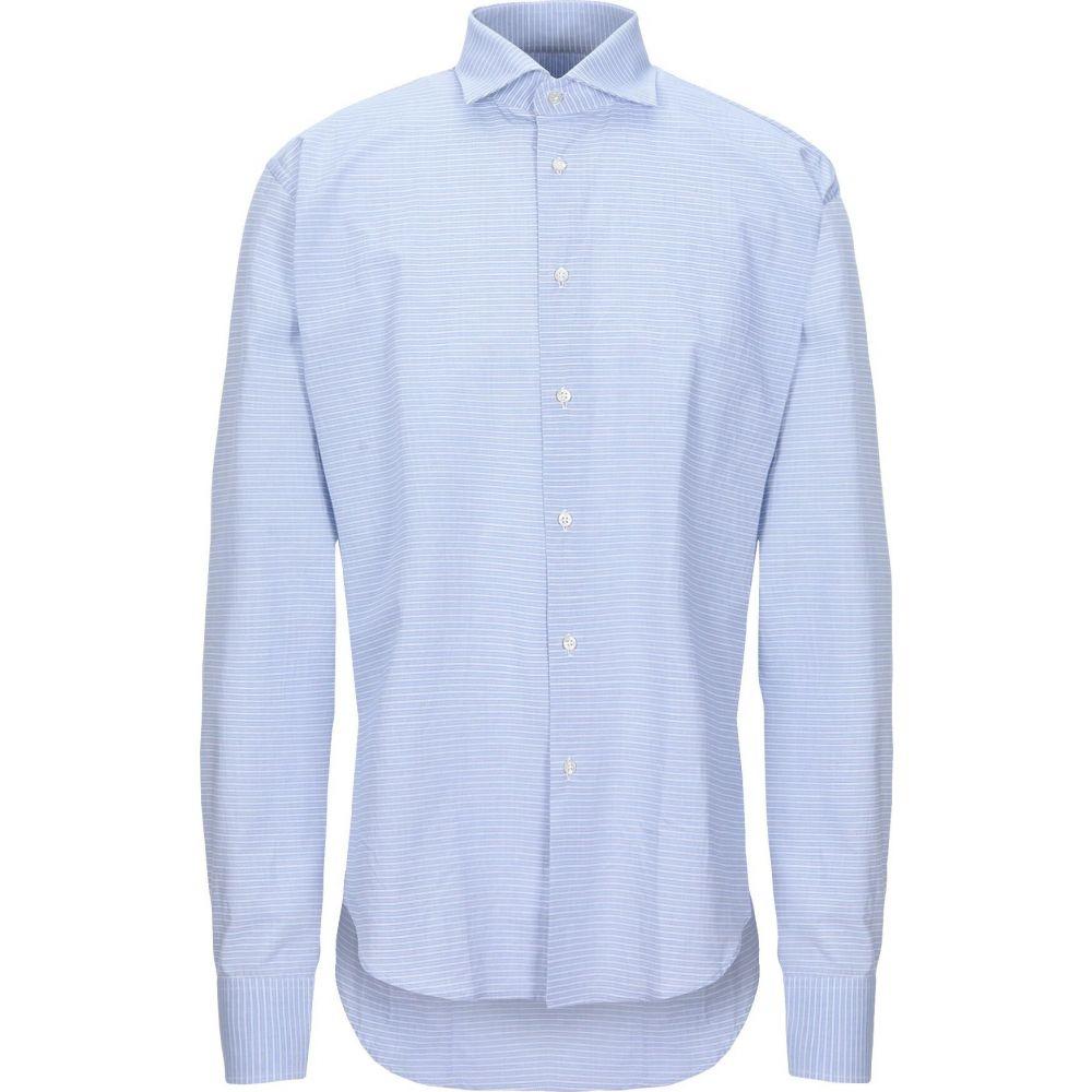 ブライアン デールズ BRIAN DALES メンズ シャツ トップス【striped shirt】Sky blue