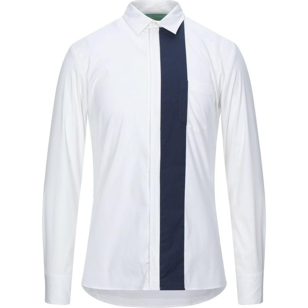 バグッタ BAGUTTA メンズ シャツ トップス【patterned shirt】White