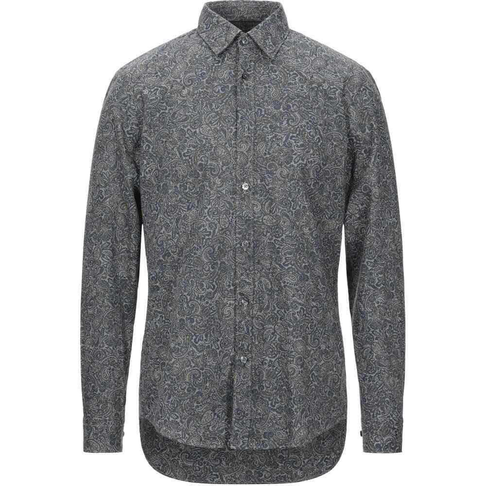 ヒューゴ ボス BOSS HUGO BOSS メンズ シャツ トップス【patterned shirt】Dark blue