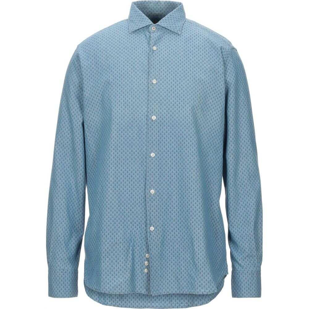 バブアー BARBOUR メンズ シャツ トップス【patterned shirt】Blue