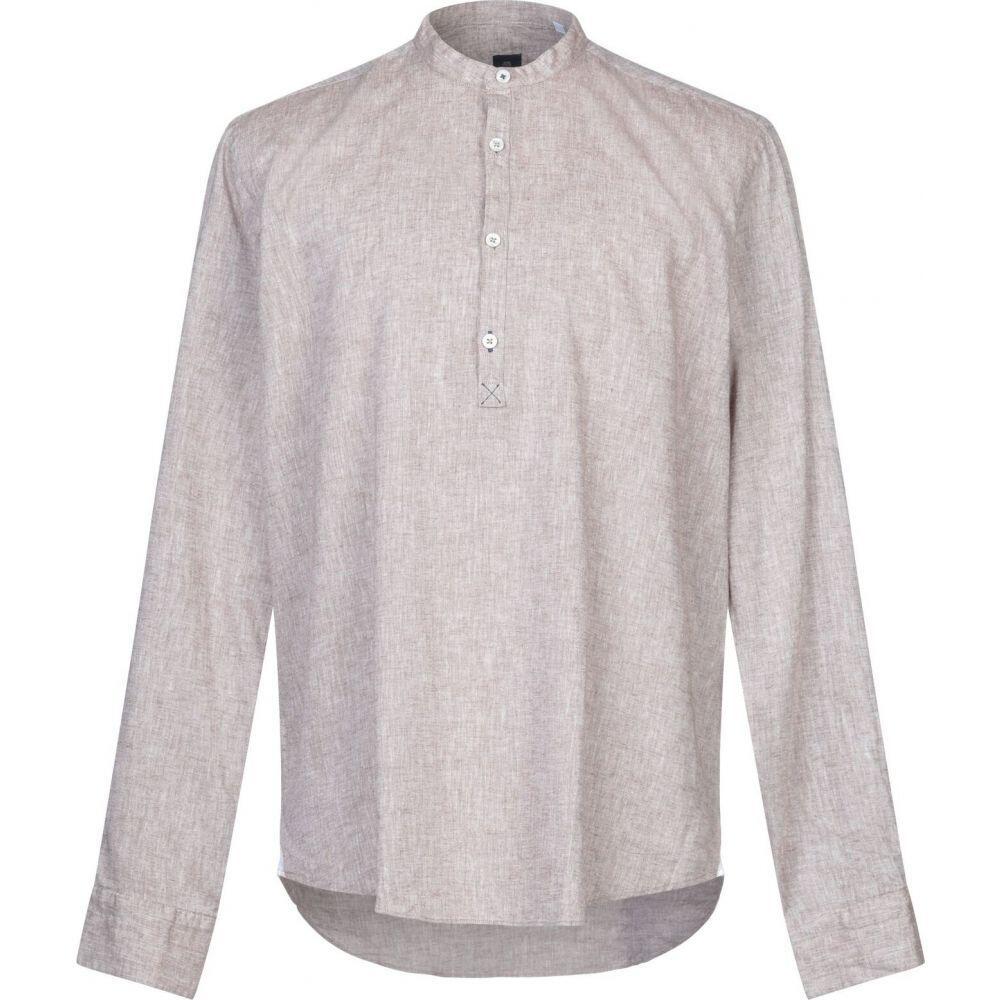 バルバッティ BARBATI メンズ シャツ トップス【linen shirt】Dove grey