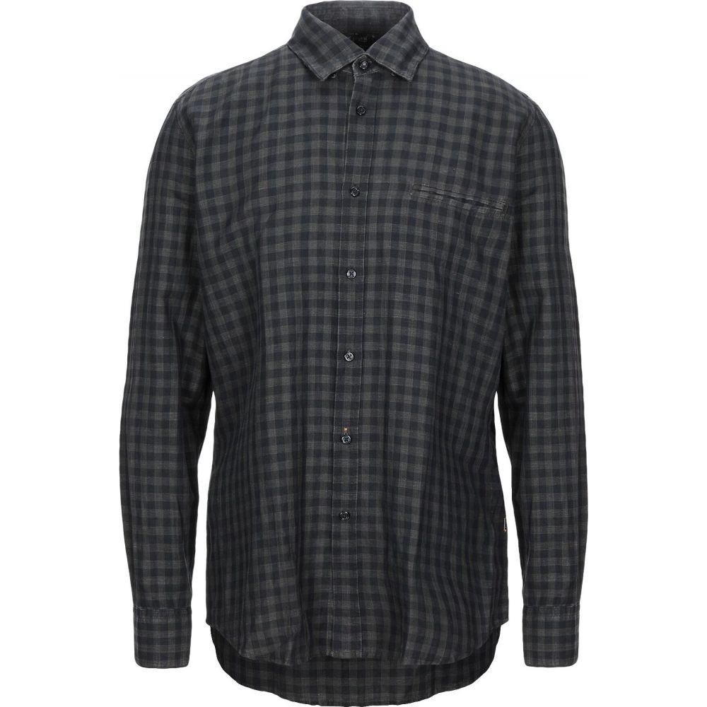 ヒューゴ ボス BOSS HUGO BOSS メンズ シャツ トップス【linen shirt】Steel grey