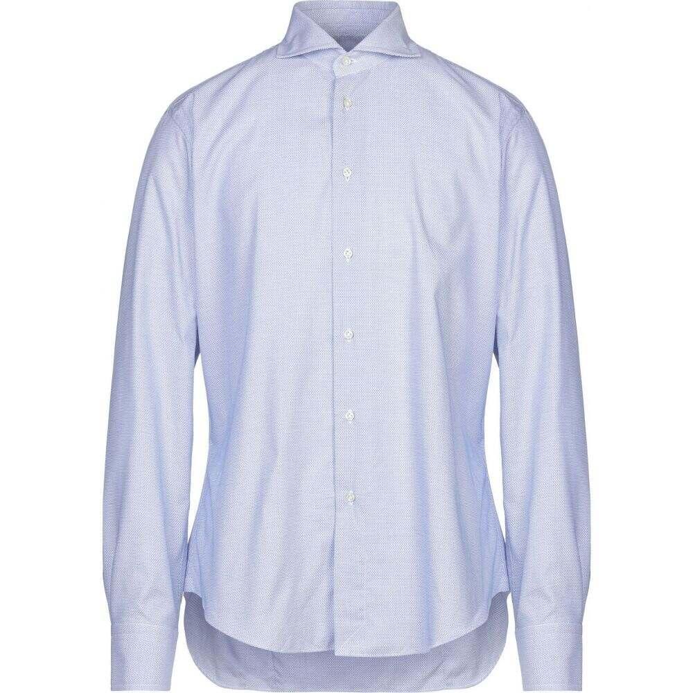 ブライアン デールズ BRIAN DALES メンズ シャツ トップス【patterned shirt】Blue