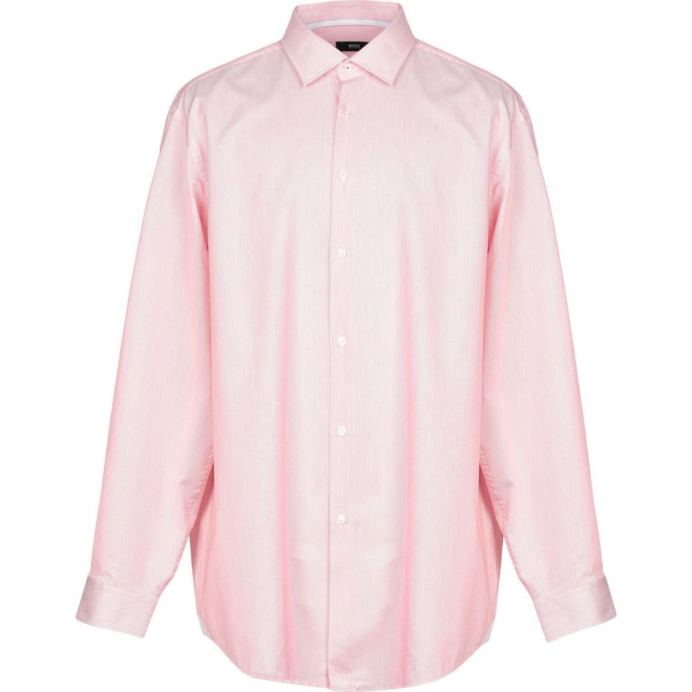 ヒューゴ ボス BOSS HUGO BOSS メンズ シャツ トップス【striped shirt】Red