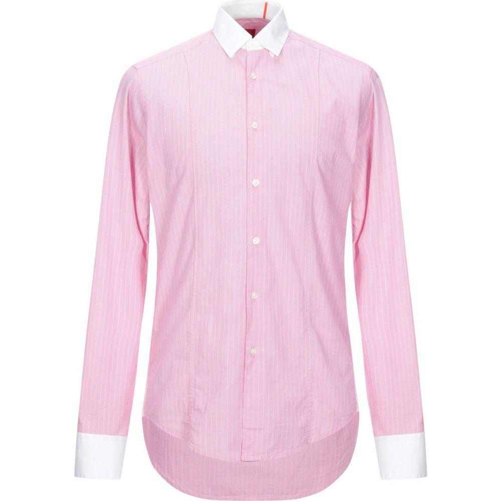 ヒューゴ ボス BOSS HUGO BOSS メンズ シャツ トップス【striped shirt】Pink