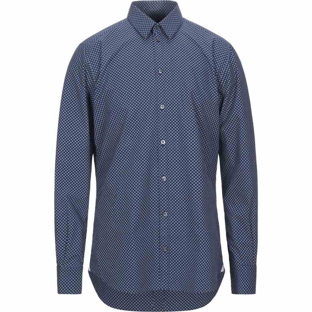 バグッタ BAGUTTA メンズ シャツ トップス【patterned shirt】Dark blue