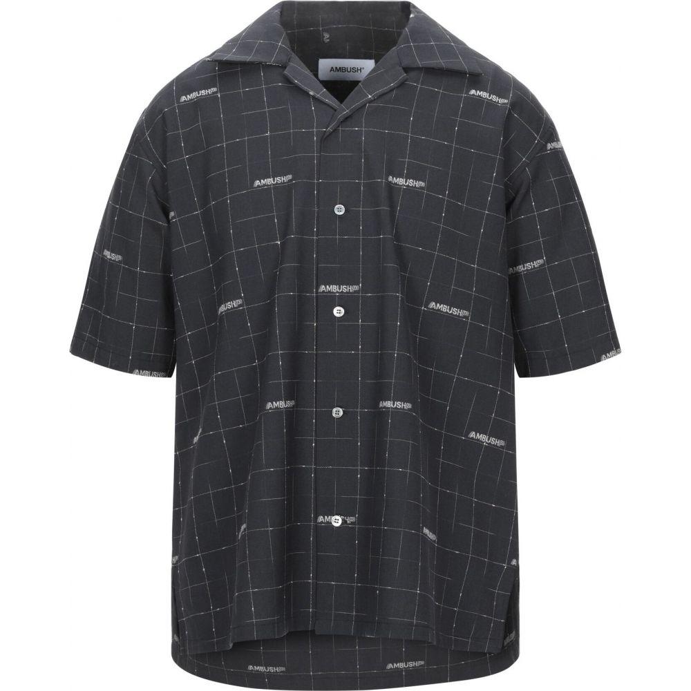 アンブッシュ AMBUSH メンズ シャツ トップス【checked shirt】Black