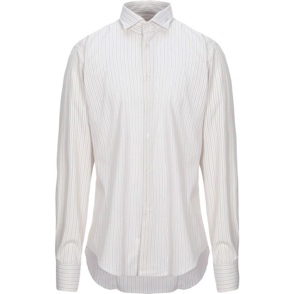 ブライアン デールズ BRIAN DALES メンズ シャツ トップス【striped shirt】Beige