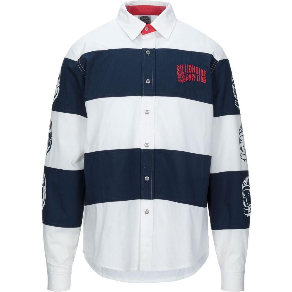 ビリオネアボーイズクラブ BILLIONAIRE BOYS CLUB メンズ シャツ トップス【patterned shirt】White