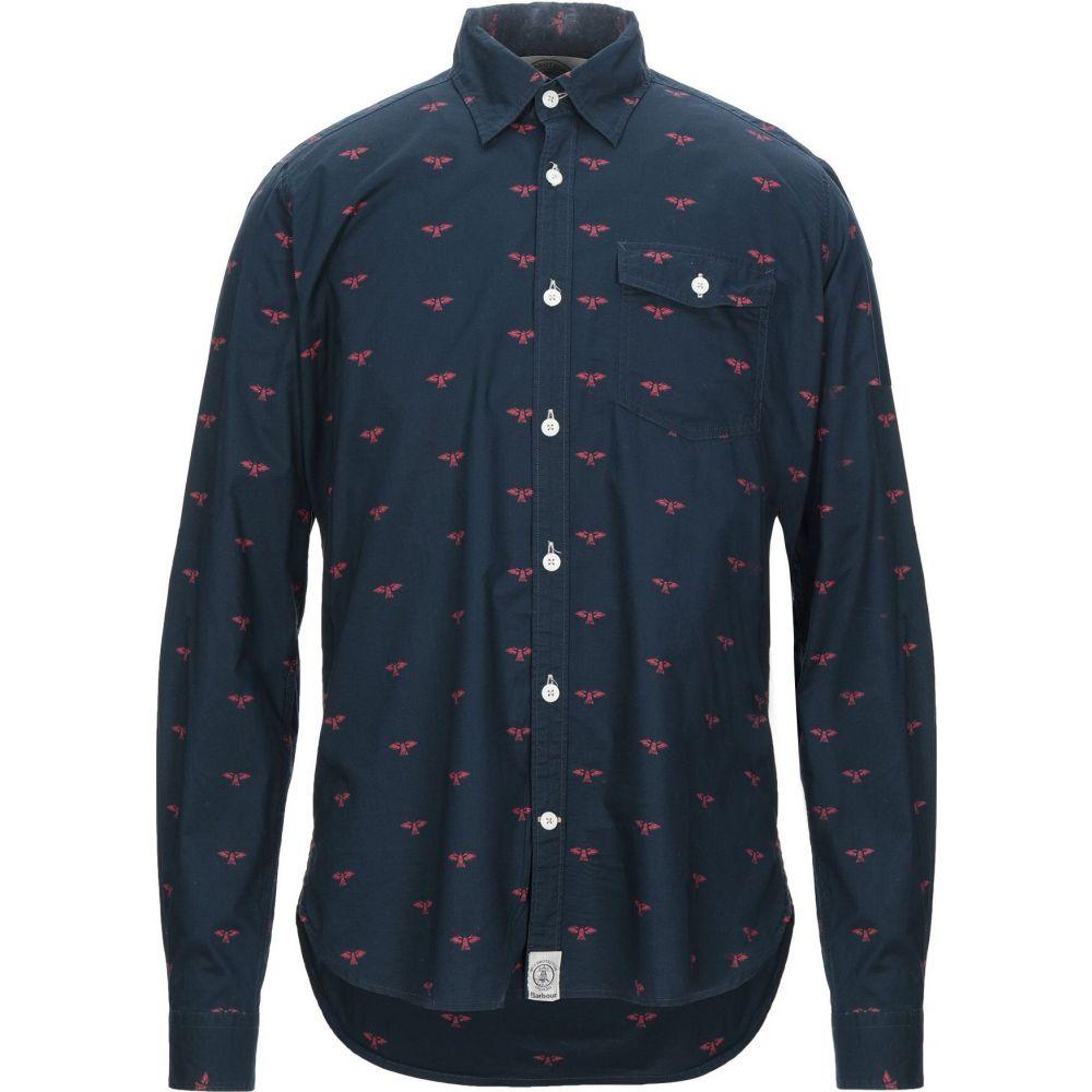 バブアー BARBOUR メンズ シャツ トップス【patterned shirt】Dark blue