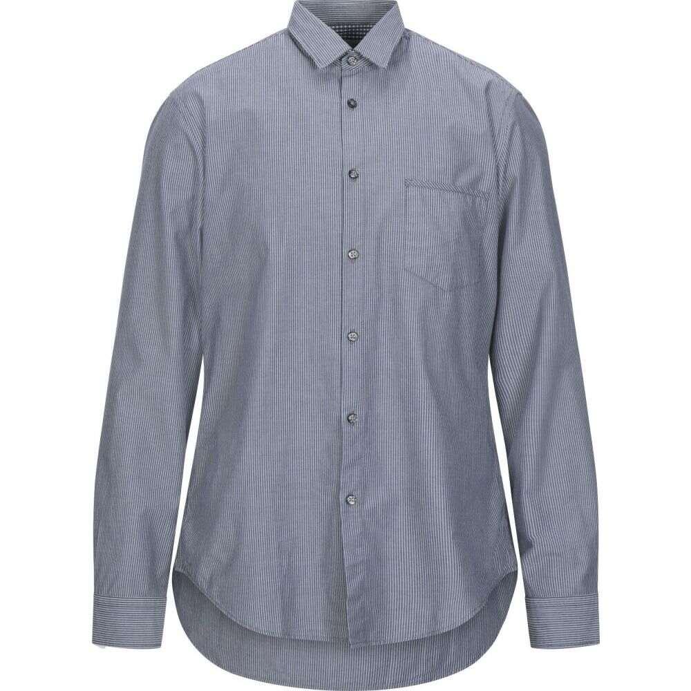 ヒューゴ ボス BOSS HUGO BOSS メンズ シャツ トップス【striped shirt】Grey