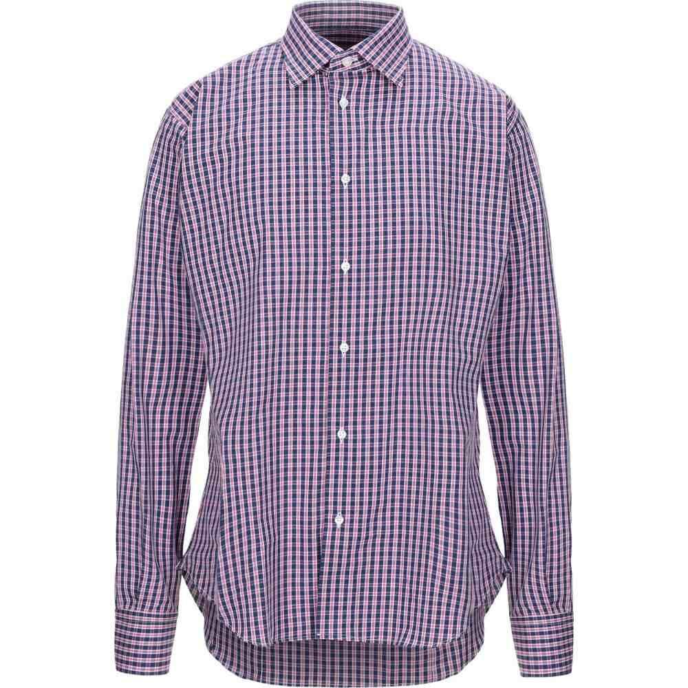 ブライアン デールズ BRIAN DALES メンズ シャツ トップス【checked shirt】Fuchsia