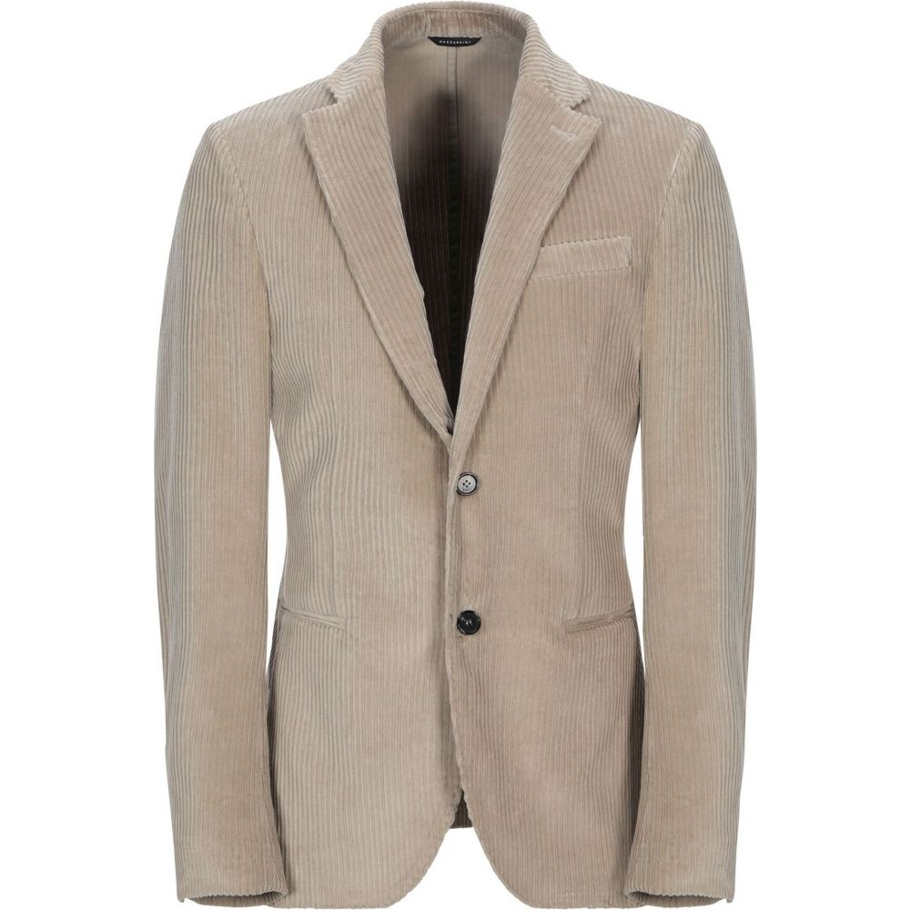GAZZARRINI メンズ ガッザリーニ アウター【blazer】Beige スーツ・ジャケット