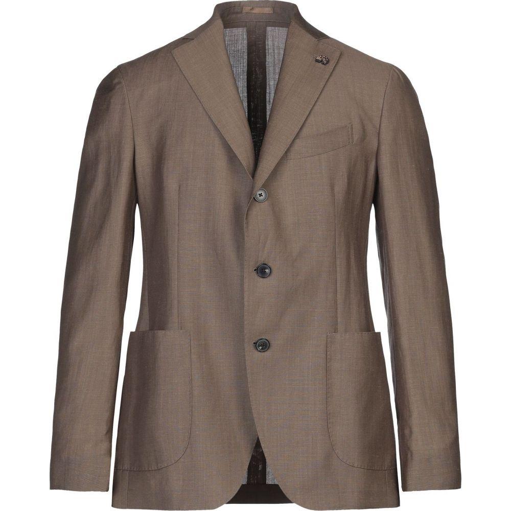 ガブリエレ パジーニ GABRIELE PASINI メンズ スーツ・ジャケット アウター【blazer】Khaki