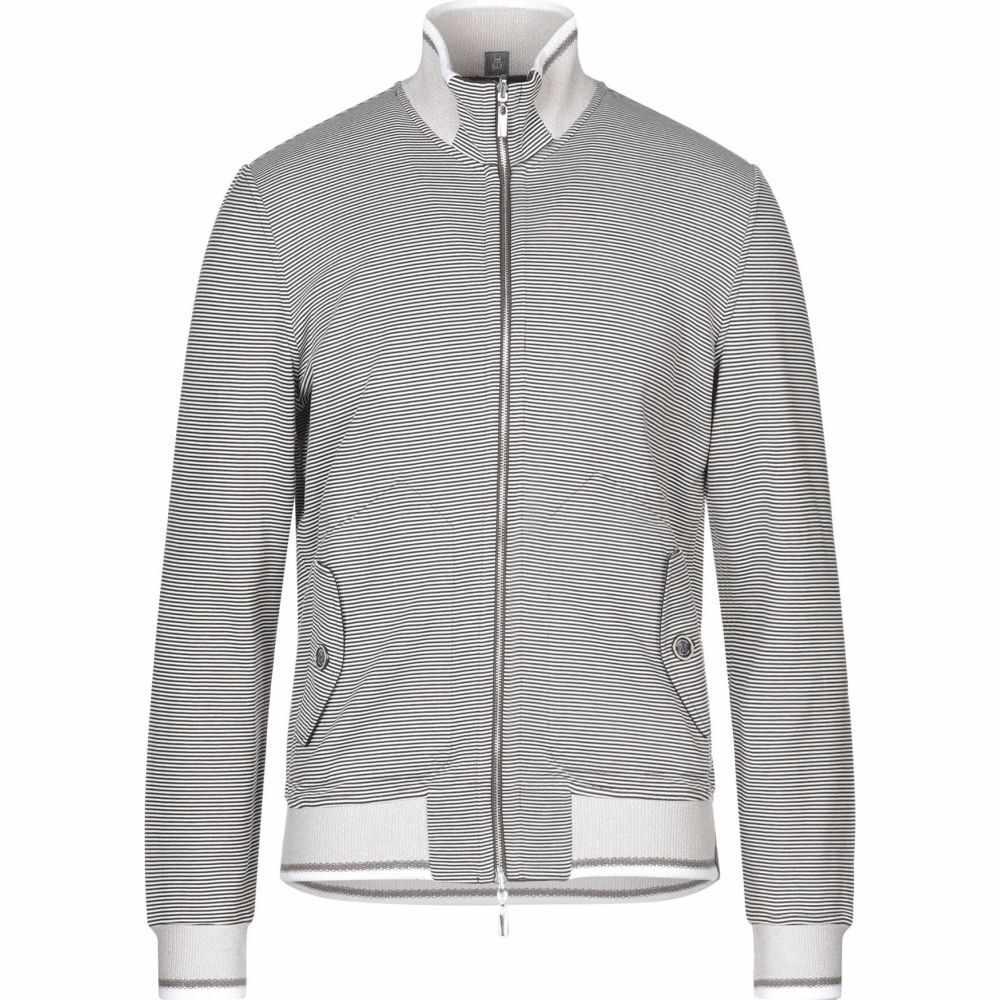カポビアンコ CAPOBIANCO メンズ スウェット・トレーナー トップス【sweatshirt】Dark brown