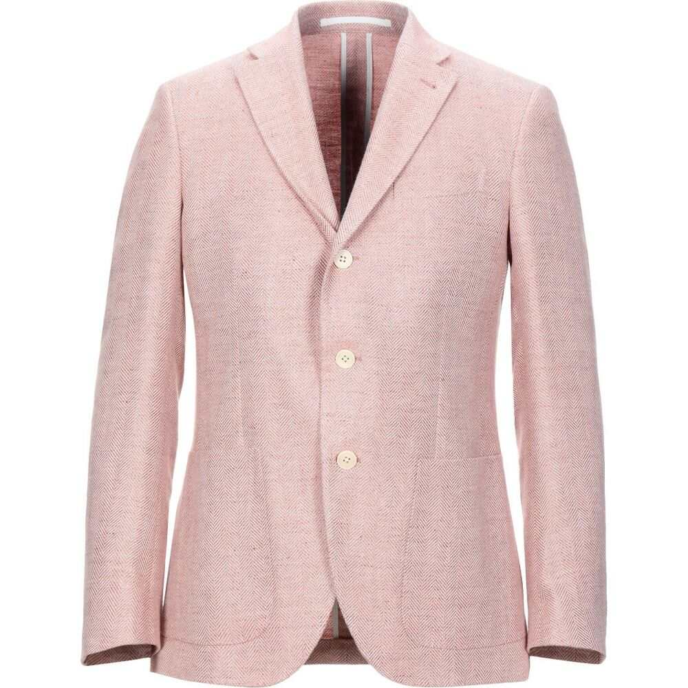 カンタレリ CANTARELLI メンズ スーツ・ジャケット アウター【blazer】Salmon pink