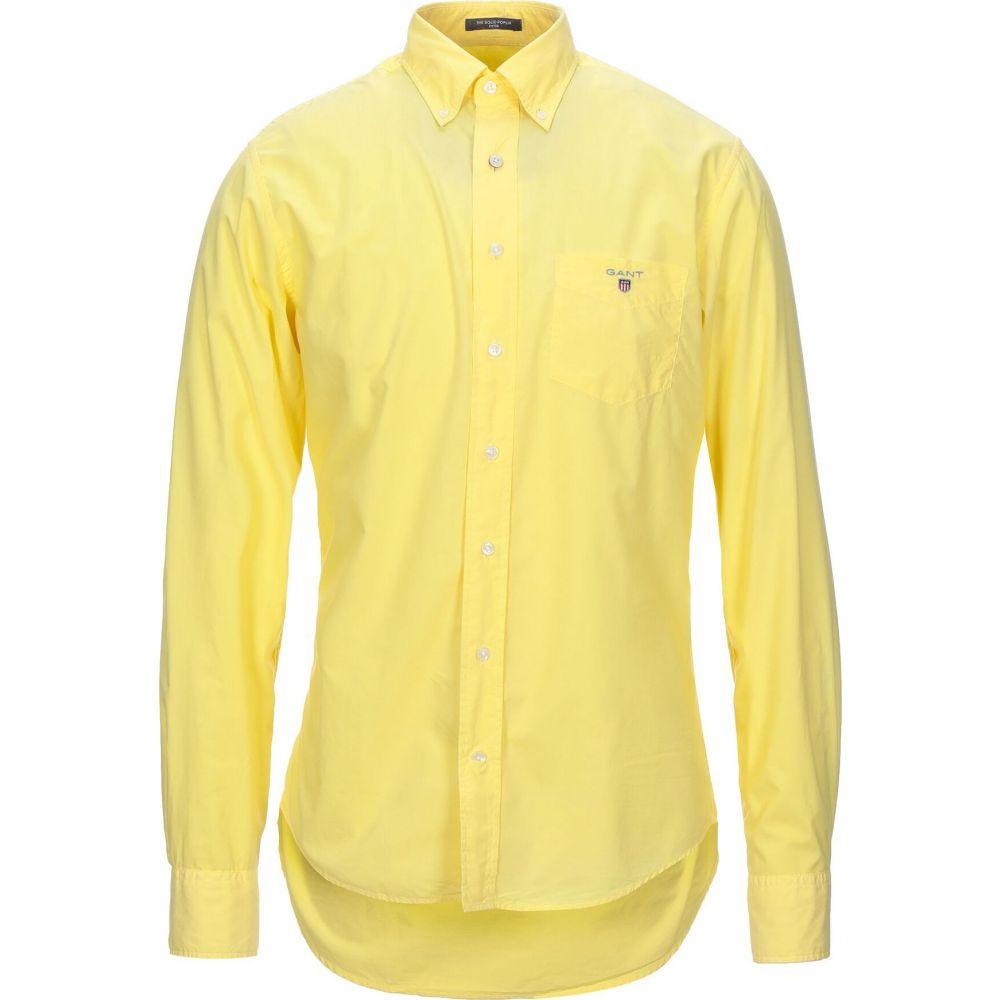 ガント GANT メンズ シャツ トップス【solid color shirt】Yellow