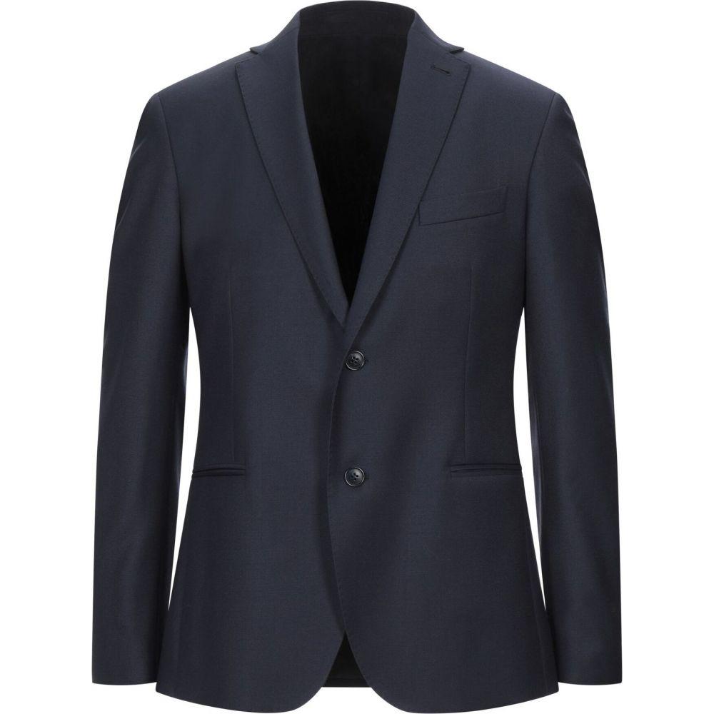 カンタレリ CANTARELLI メンズ スーツ・ジャケット アウター【blazer】Dark blue