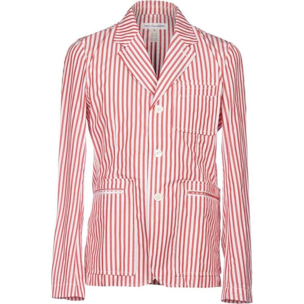 コム デ ギャルソン COMME des GARCONS SHIRT メンズ スーツ・ジャケット アウター【blazer】Red