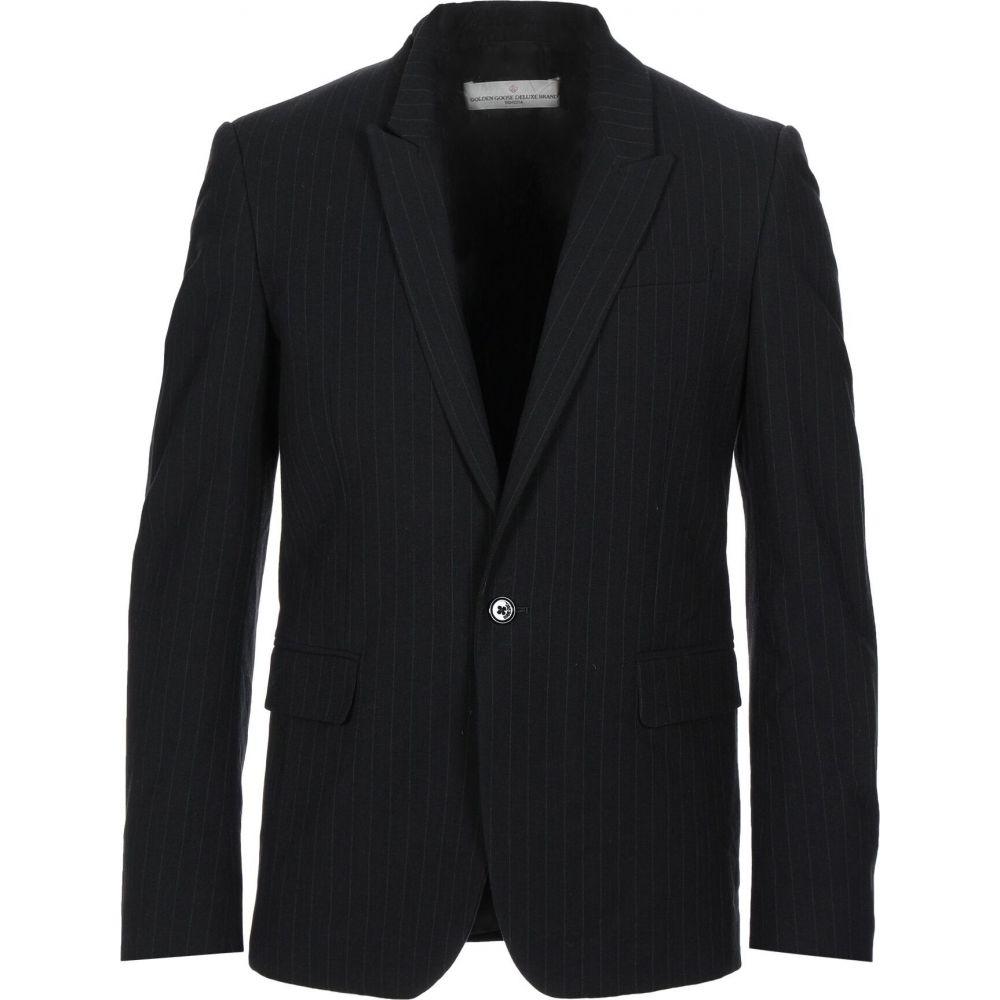 ゴールデン グース GOLDEN GOOSE DELUXE BRAND メンズ スーツ・ジャケット アウター【blazer】Black