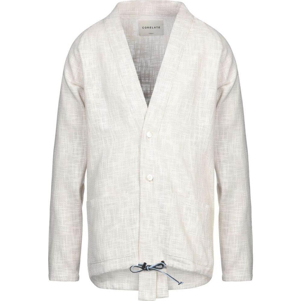 コラレート CORELATE メンズ スーツ・ジャケット アウター【blazer】Beige