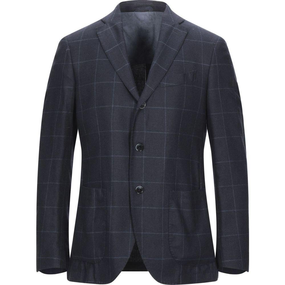 サルトリア ラトーレ SARTORIA LATORRE メンズ スーツ・ジャケット アウター【blazer】Dark blue