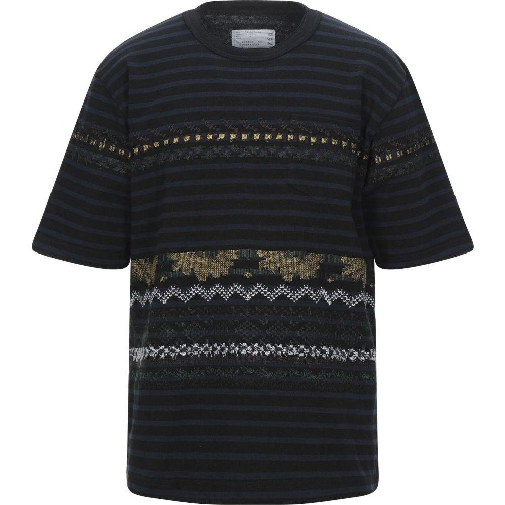 サカイ SACAI メンズ Tシャツ トップス【t-shirt】Black