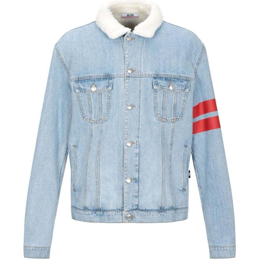 ジーシーディーエス GCDS メンズ ジャケット Gジャン アウター【denim jacket】Blue