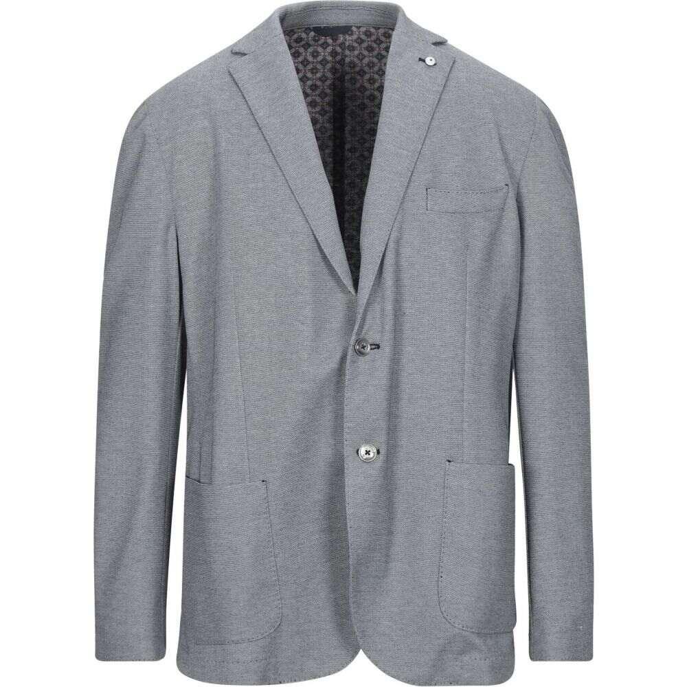 サンタニエッロ SANTANIELLO メンズ スーツ・ジャケット アウター【blazer】Slate blue