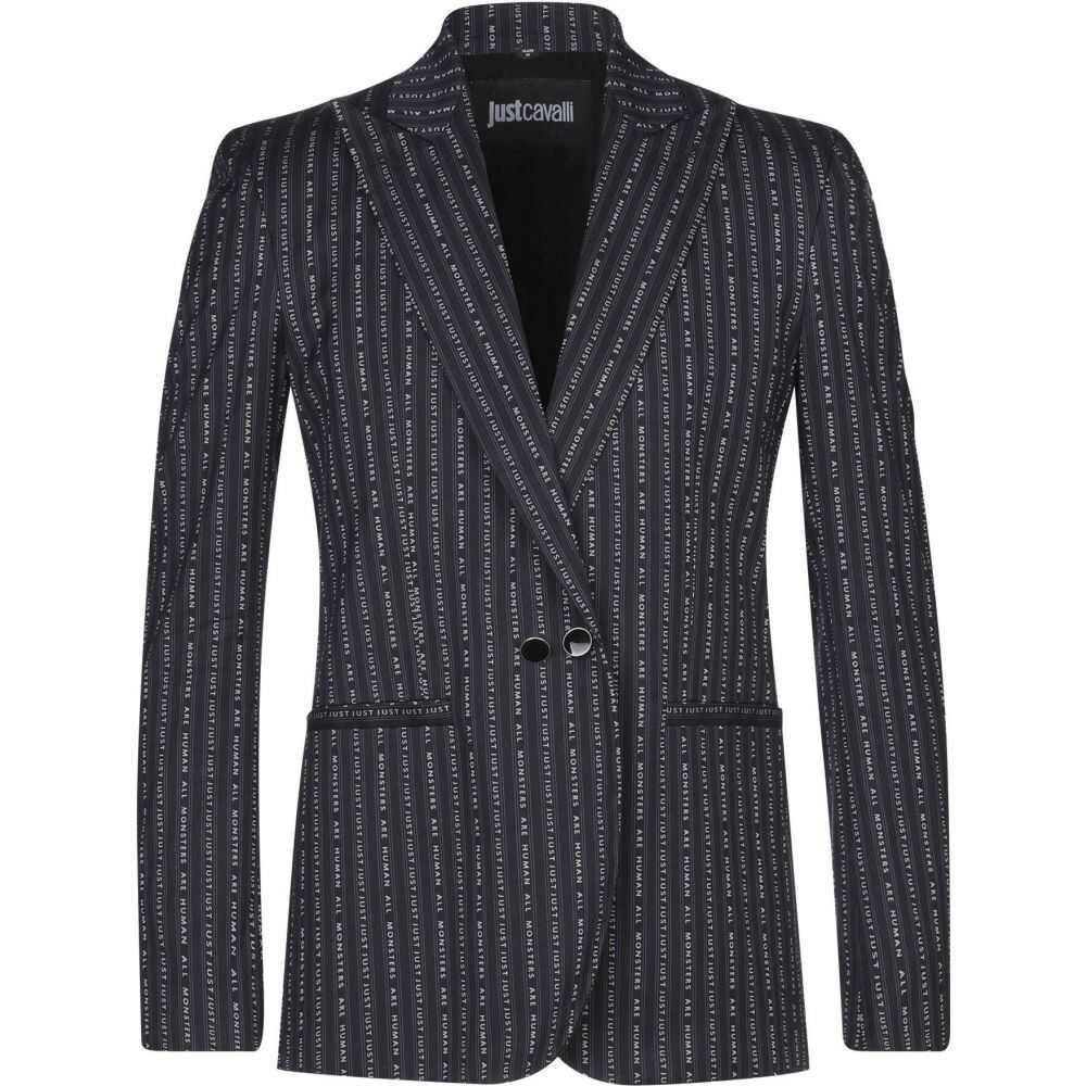 ジャスト カヴァリ JUST CAVALLI メンズ スーツ・ジャケット アウター【blazer】Black