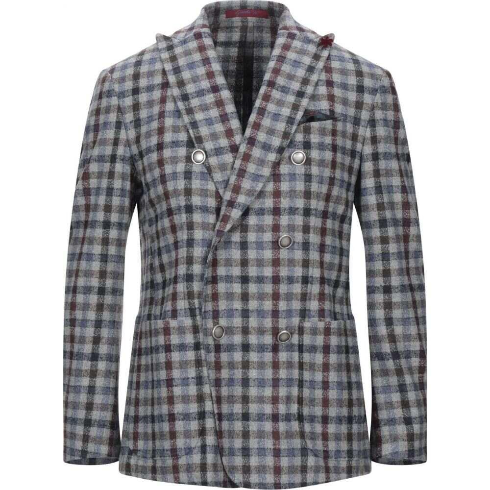ジャッケ GIACCHE' メンズ スーツ・ジャケット アウター【blazer】Grey