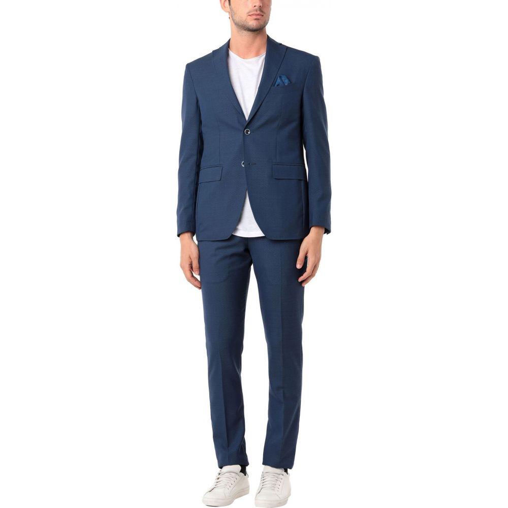 ジャッケ GIACCHE' メンズ スーツ・ジャケット アウター【Suit】Slate blue