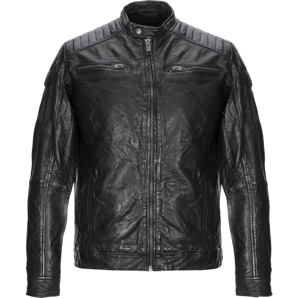 ジャック アンド ジョーンズ JACK & JONES メンズ ジャケット ライダース アウター【biker jacket】Black