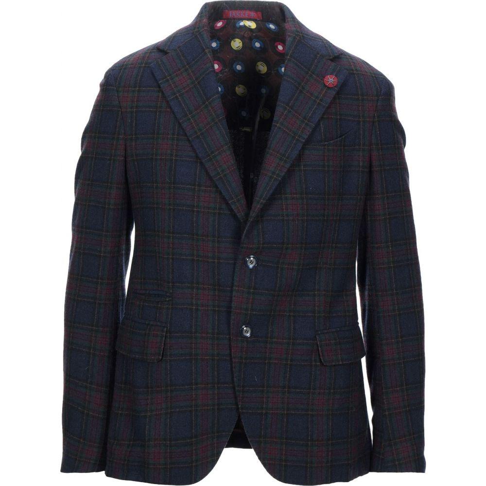 ジャッキー JAKKE メンズ スーツ・ジャケット アウター【blazer】Dark blue