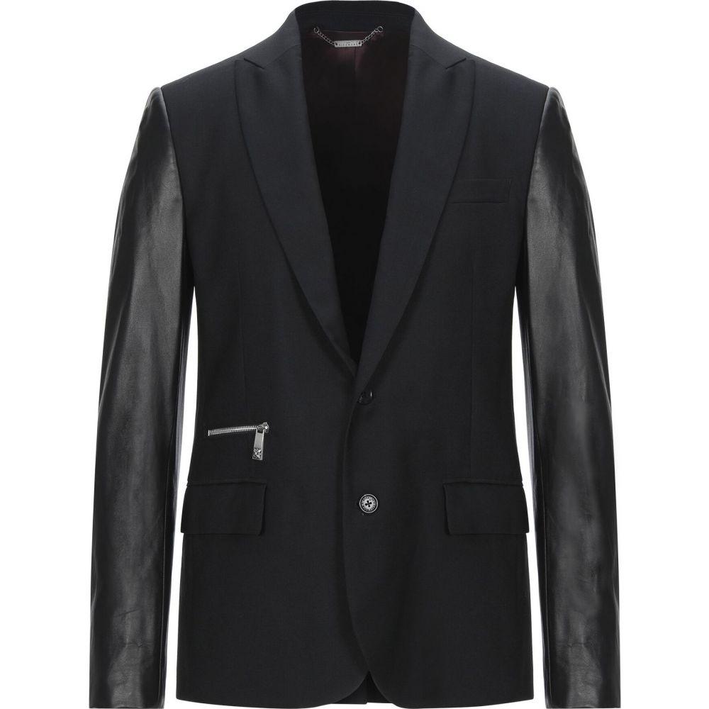 ジョン リッチモンド JOHN RICHMOND メンズ スーツ・ジャケット アウター【blazer】Black