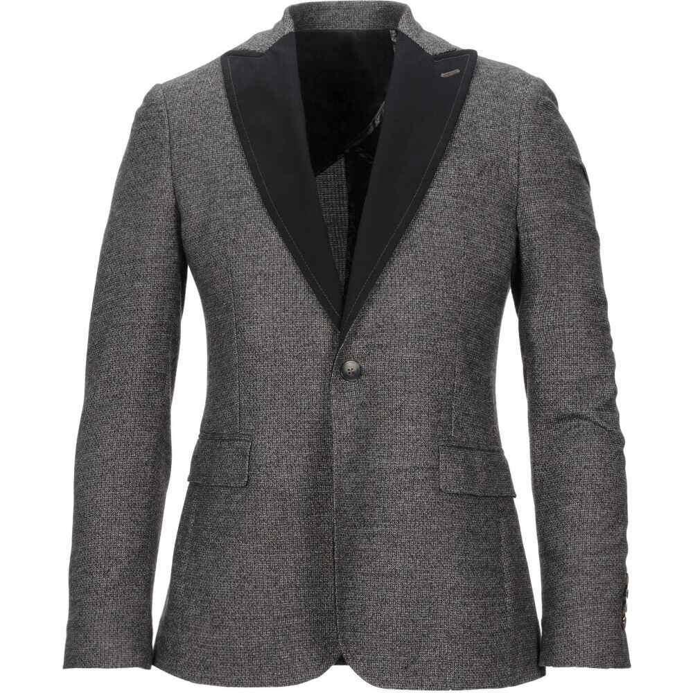 アスファルト ASFALTO メンズ スーツ・ジャケット アウター【blazer】Grey