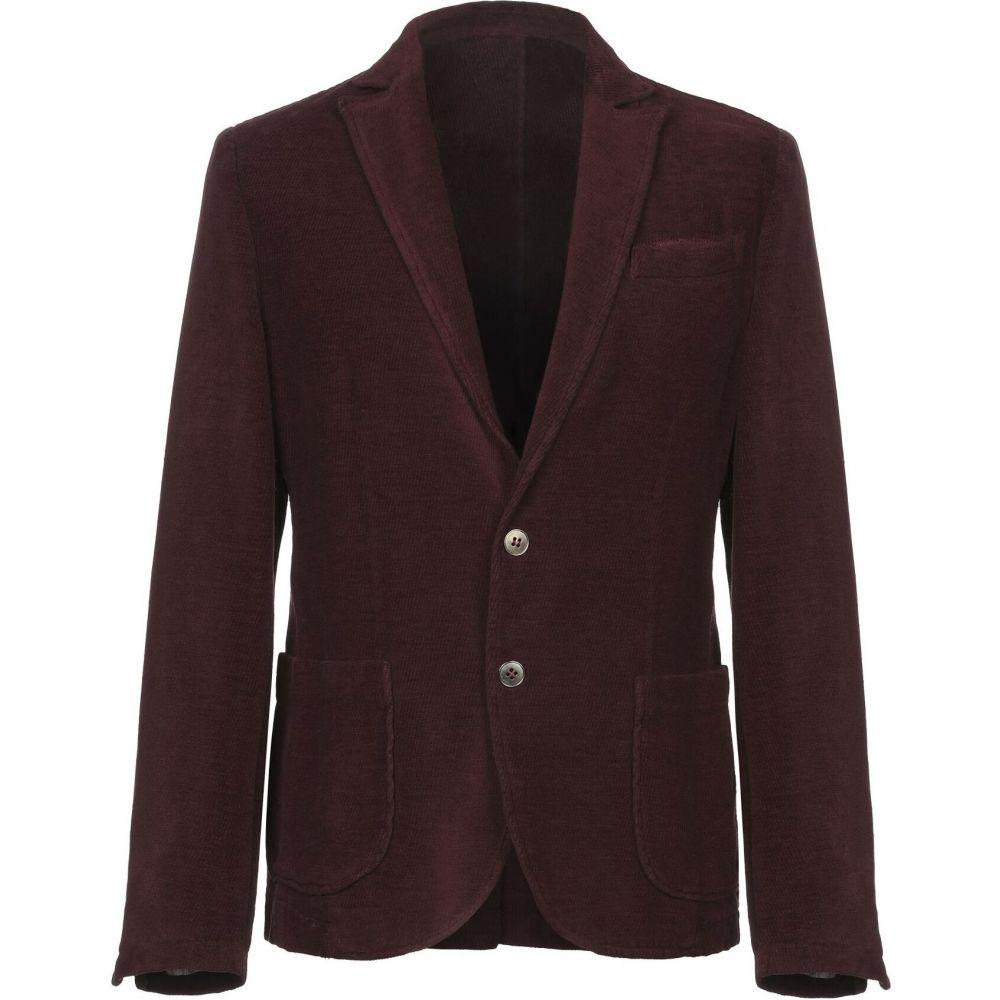 スティロソフィー インダストリー STILOSOPHY INDUSTRY メンズ スーツ・ジャケット アウター【blazer】Maroon